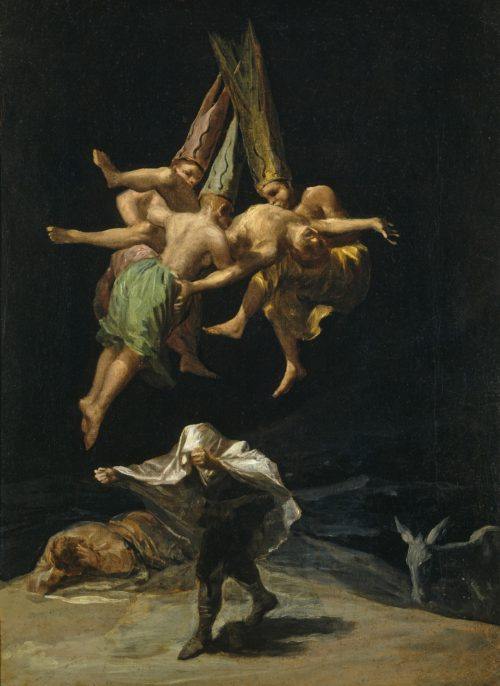 Francisco Goya, Witches's Flight, 1797