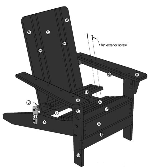 .popularmechanics.com  sc 1 st  Nassau Weekly & A Brief and True History of Adirondack Chairs - Nassau Weekly