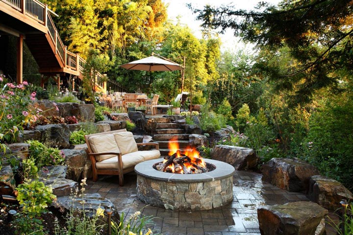 Beautiful Sloping Garden Design Ideas