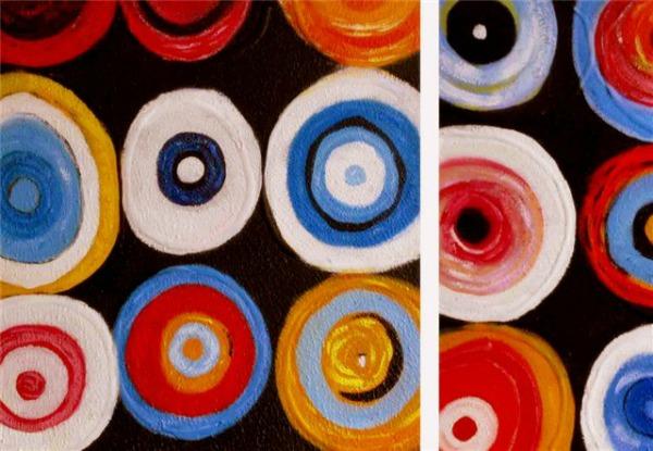Abstracte kunst de opvallendste kenmerken