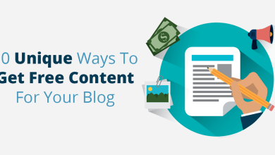 10 Unique Ways To Get Free Content For Your Blog