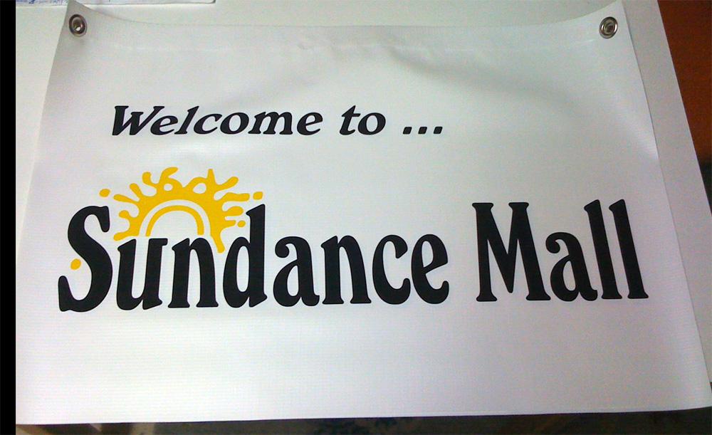 Sundance Mall Banner