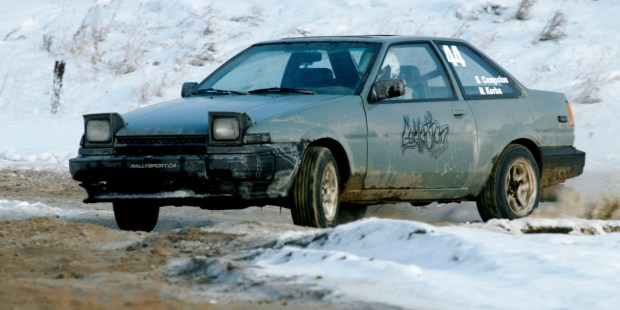 Compston Longboards equipped rally cross