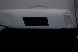 Chevy Avalanche Visor Sticker