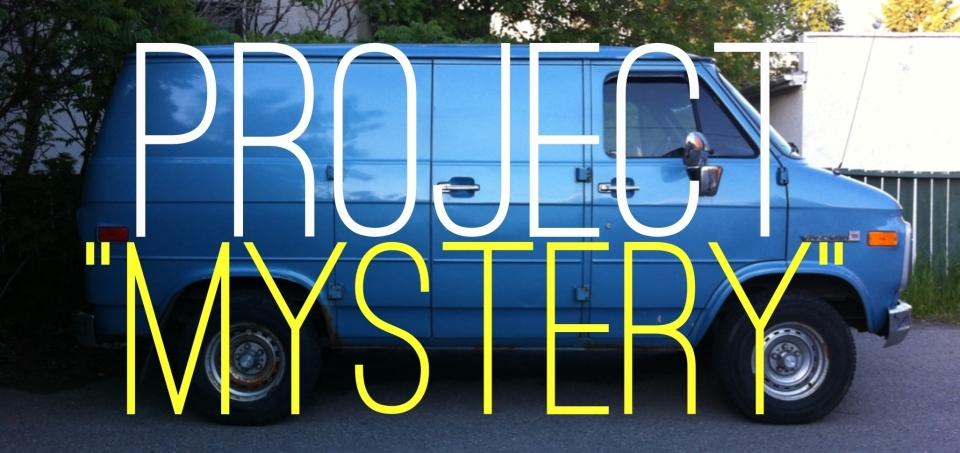 Project Mystery - Scooby Doo Van