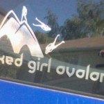 Naked Girl Avalanche