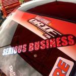 Serious Business - Drift car sticker