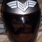 Earthwing Longboard helmet sticker