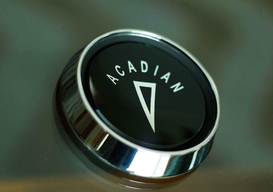 Finished ACADIAN horn cap