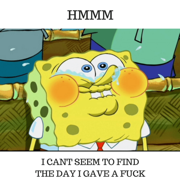 spongebob mocking meme