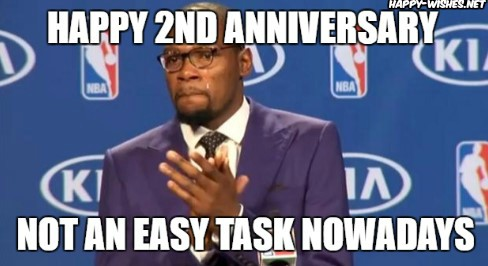 happy anniversary meme for wife