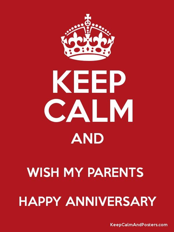 happy anniversary meme for parents