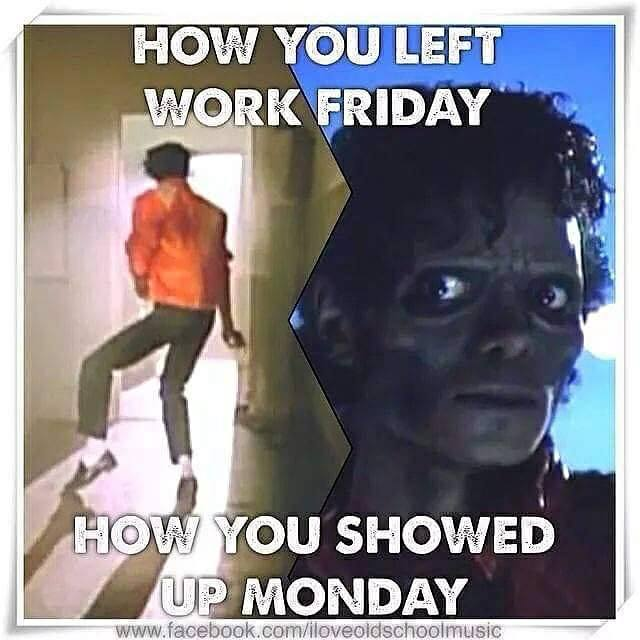 happy monday meme work