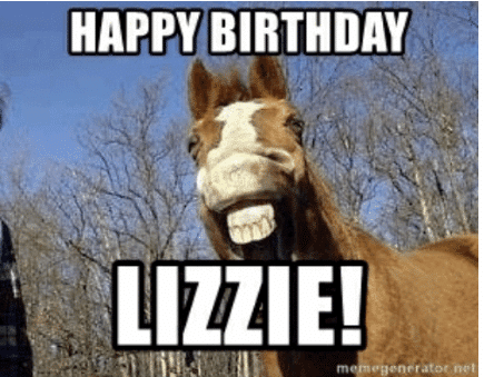 happy birthday liziie
