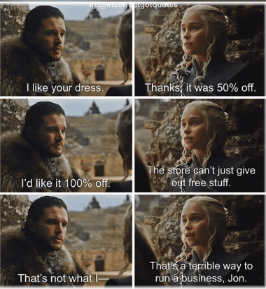 funny game of thrones memes