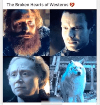 game of thrones finale borken hearts memes