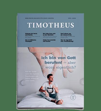 Timotheus Magazin #39 - Cover