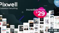 Free Download PIXWELL WP Theme Wordpress Terbaru