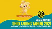 Ramalan Keberuntungan Shio Anjing Tahun 2021