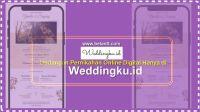 Undangan Pernikahan Online Digital Hanya di Weddingku.id