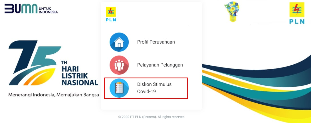 Cara Klaim Token Listrik Gratis Maret 2021 Melalui Website pln.co.id