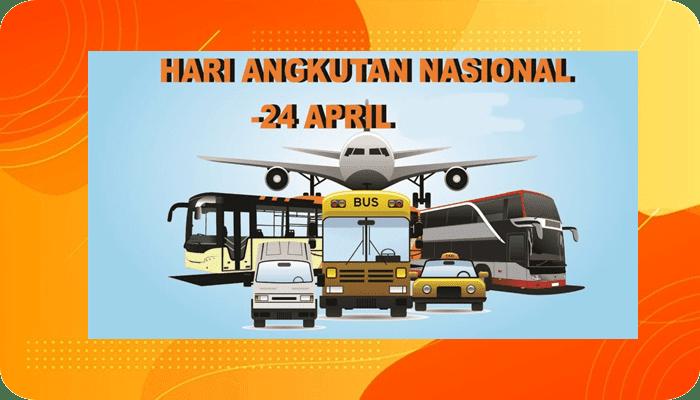24 April - Hari Angkutan Nasional, Fakta Sejarahnya
