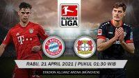 Hasil Pertandingan Bayern Vs Leverkusen: Die Roten Menang 2-0