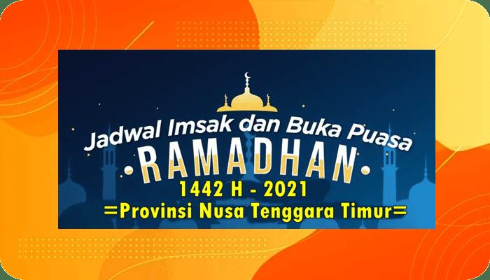 (Update) Jadwal Imsak dan Buka Puasa 1442 H 2021 se Provinsi NTT