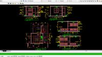 Download Gambar Desain DapurPatryKitchen Set Lengkap DWG AutoCAD