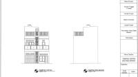 Download Gambar Rumah 2 Lantai Ukuran 12x7 DWG AutoCAD