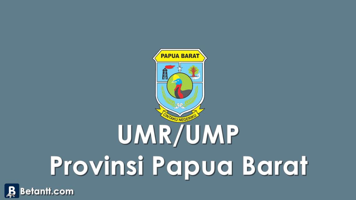 Data UMPUMR KabupatenKota di Provinsi Papua Barat 2021