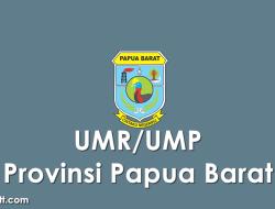 Data UMP/UMR Kabupaten/Kota di Provinsi Papua Barat 2021