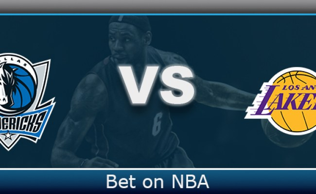 Los Angeles Lakers At Dallas Mavericks Betting Prediction
