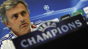 I would be ashamed to have won the Champions League with the scandal of Stamford Bridge. If he wins it this year, it will be with the scandal of the Bernabeu. Jose Mourinho