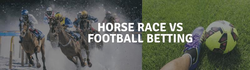 apuestas de carreras de caballos vs apuestas de fútbol