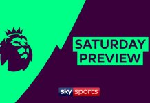 Skysports Saturday Preview