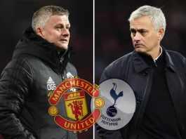 Ole Gunnar Solksjaer's Utd goes head to head with Mourinho's Spurs