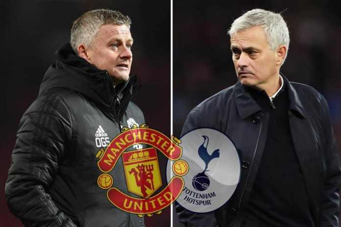 Ole Gunnar Solksjaer's Utd goes head to head with Mourinho's Spurs