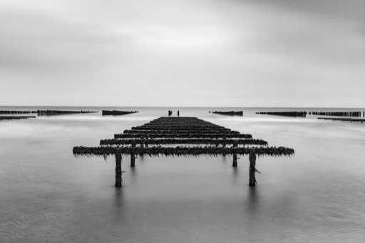 De kustlijn aan de Franse Opaalkust is zeer afwisselend en erg geschikt voor kustfotografie.