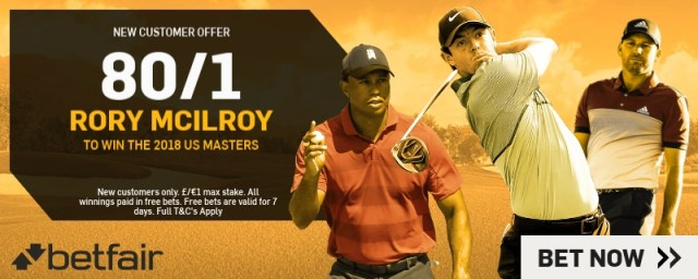 US Masters 2018 New Customer Offers