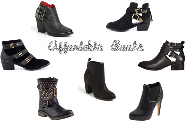 Affordable Boots for Fall