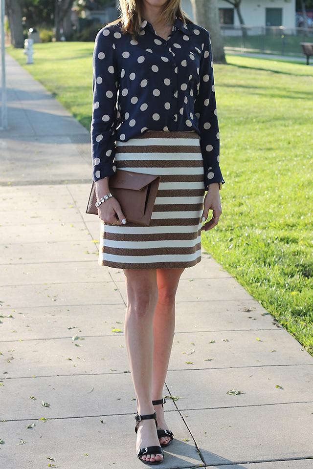 stripes and polkadots
