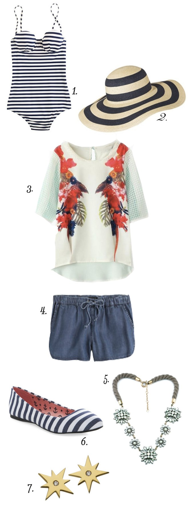 July 4th outfit ideas, Summer outfit ideas