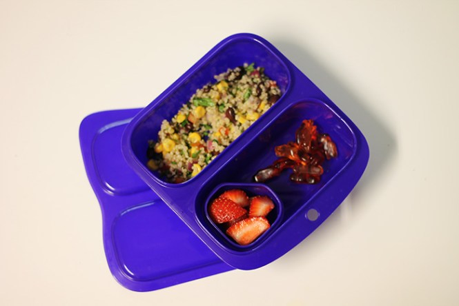 purple lunch box, kids bento box,