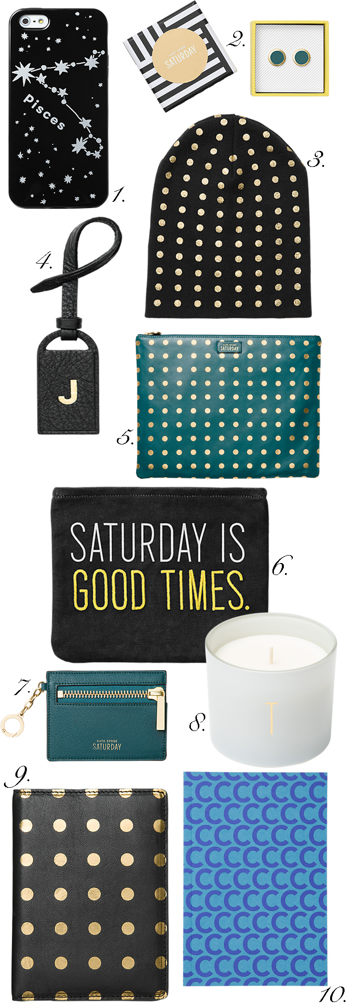Kate Spade Saturday Gifts