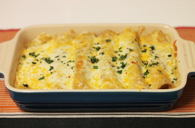 gluten free turkey enchiladas