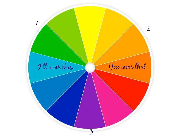 color wheel for family photos