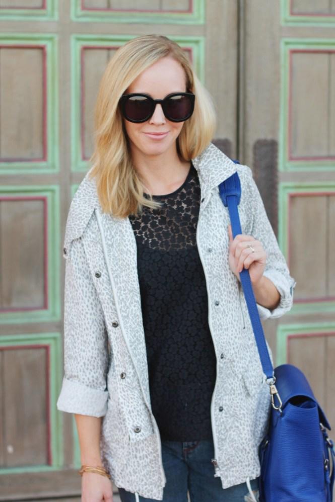 joie Barker A leopard print jacket