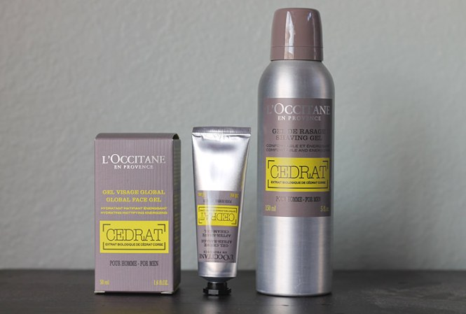 loccitane mens products