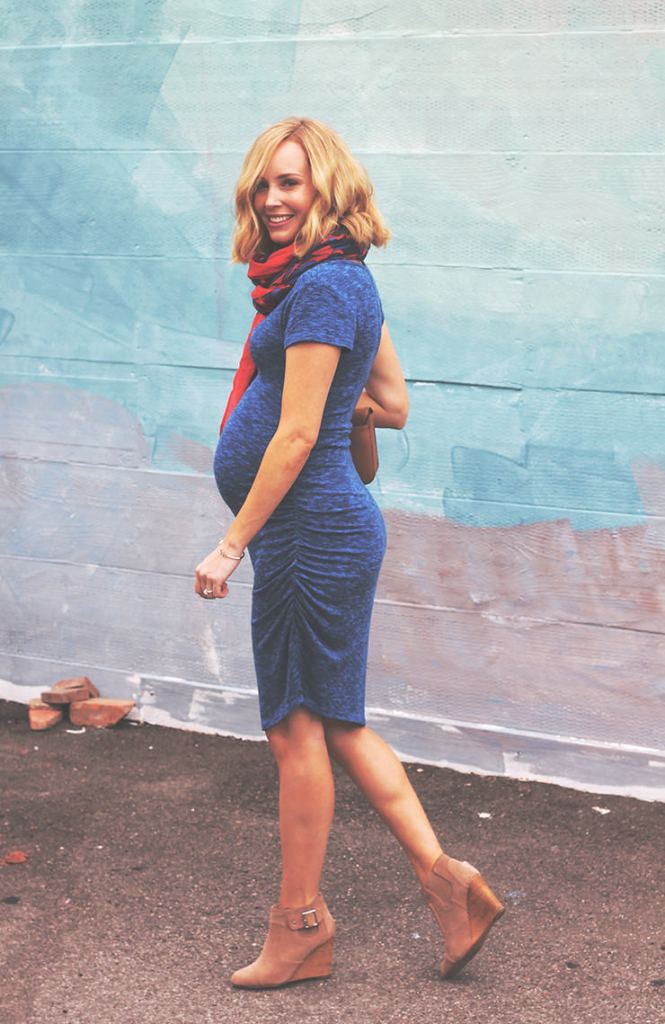 spring maternity outfit ideas